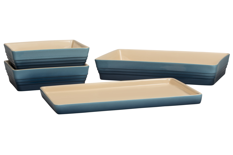 Le Creuset Scandinavia Bakeware 4 Piece Set - Marine
