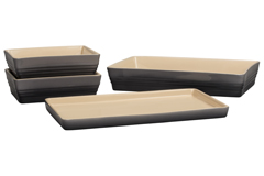 Le Creuset Scandinavia Bakeware 4 Piece Set - Oyster