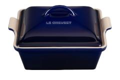 Le Creuset Heritage Stoneware 2 1/2 qt. Square Casserole - Indigo
