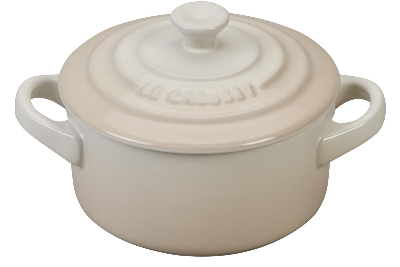 Le Creuset Stoneware Mini Round Cocotte - Meringue