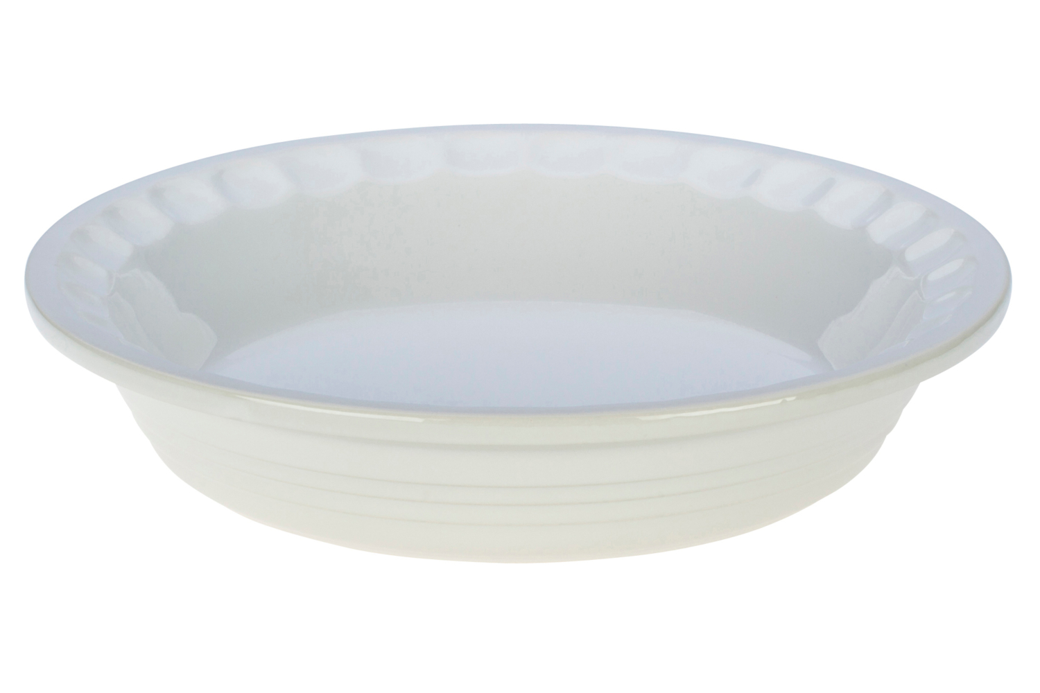 Le Creuset Heritage Stoneware 9 inch Pie Dish - White