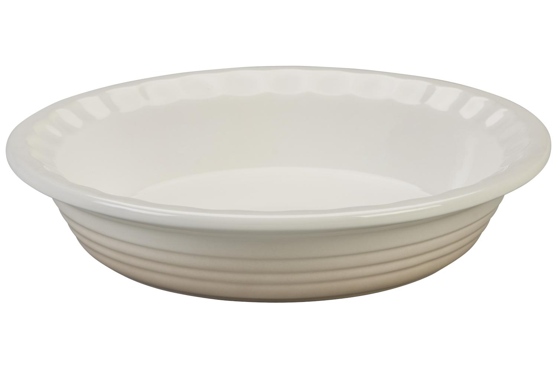Le Creuset Heritage Stoneware 9 inch Pie Dish - Meringue