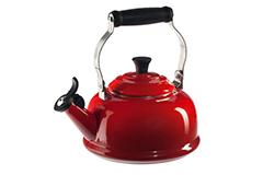 Le Creuset Classic Whistling Tea Kettle - Cerise