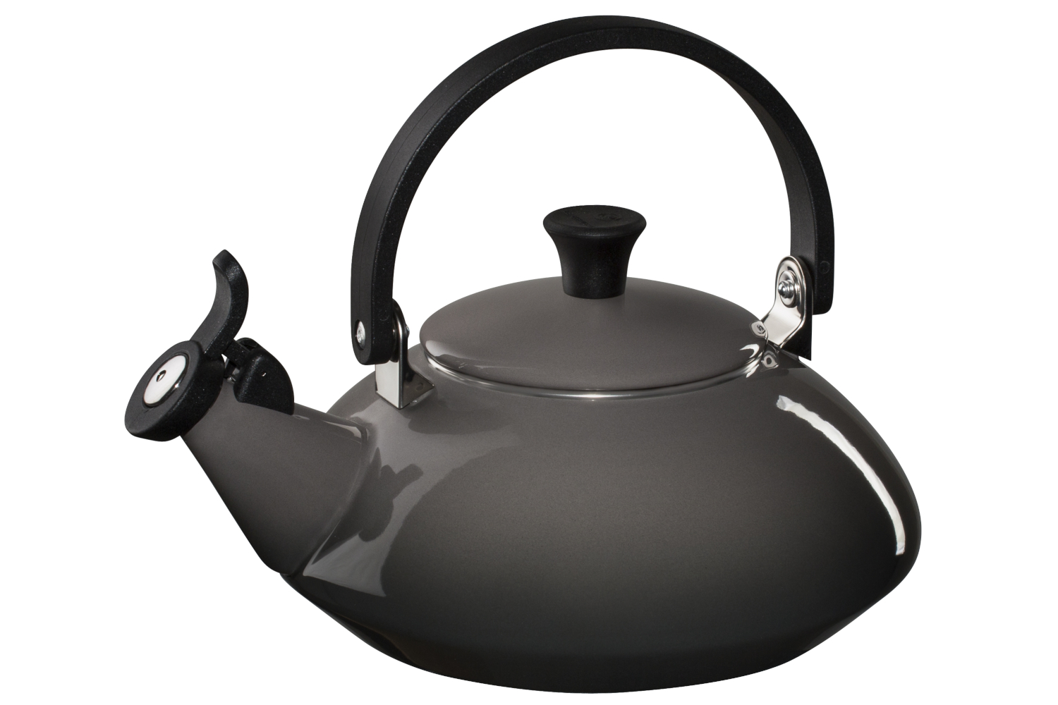 Le Creuset Enamel on Steel Zen Tea Kettle - Oyster