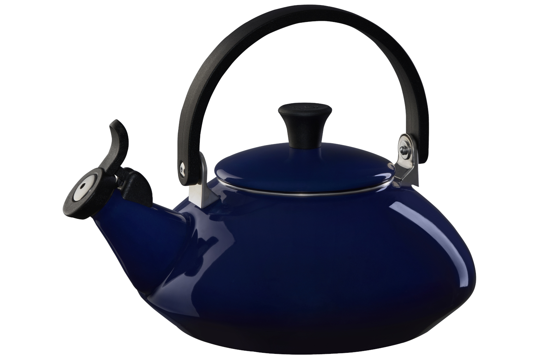 Le Creuset Enamel on Steel Zen Tea Kettle - Indigo