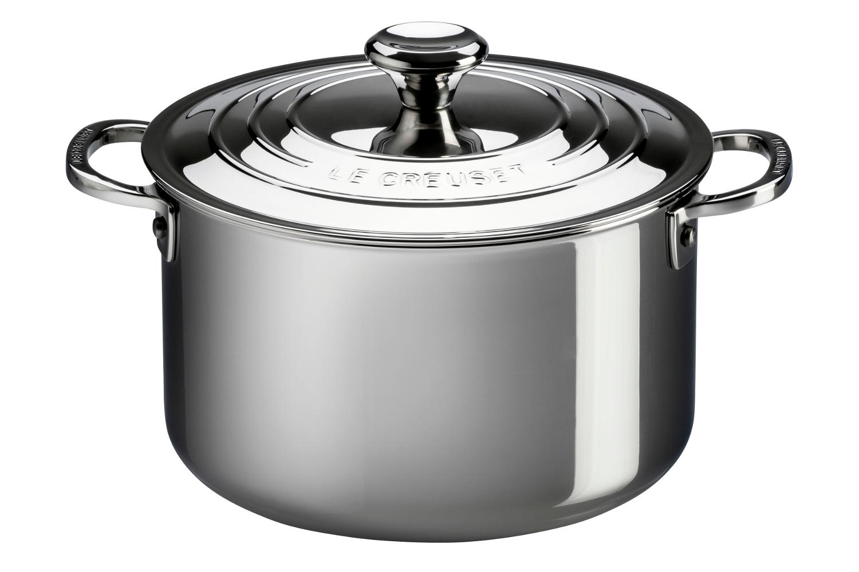 Le Creuset Premium Stainless Steel 9 qt. Stock Pot w/Lid