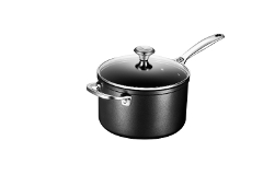 Le Creuset Toughened Nonstick 4 qt. Saucepan w/Glass Lid