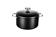 Le Creuset Toughened Nonstick 6.33 qt. Stock Pot w/Glass Lid