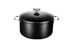 Le Creuset Toughened Nonstick 9.33 qt. Stock Pot w/Glass Lid