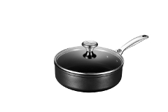 Le Creuset Toughened Nonstick 3 1/2 qt. Sautepan w/Glass Lid