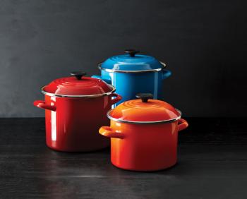 Le Creuset Enamel on Steel Cookware