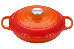 Le Creuset Signature Cast Iron Flame Braisers