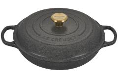 Le Creuset Signature Cast Iron 3 1/2 qt. Braiser - Stone
