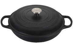 Le Creuset Signature Cast Iron Licorice Braisers