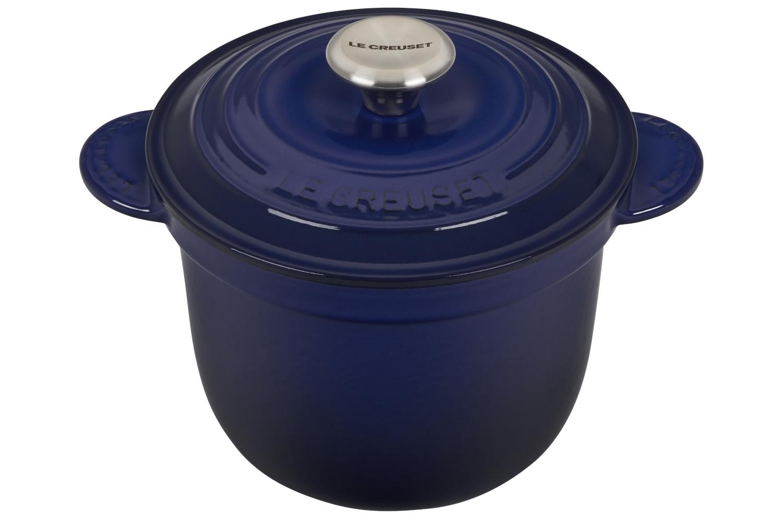 Le Creuset Enameled Cast Iron 2 1/4 qt. Rice Pot w/Insert - Indigo