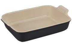 Le Creuset Heritage Stoneware 4 qt. Rectangular Dish - Licorice