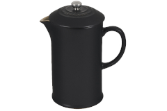 Le Creuset Stoneware 27 oz. French Press - Licorice