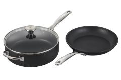 Le Creuset Toughened Nonstick PRO 3 Piece Cookware Set
