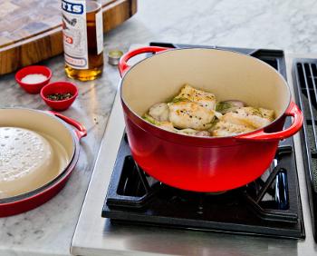 Le Creuset Cerise Cookware