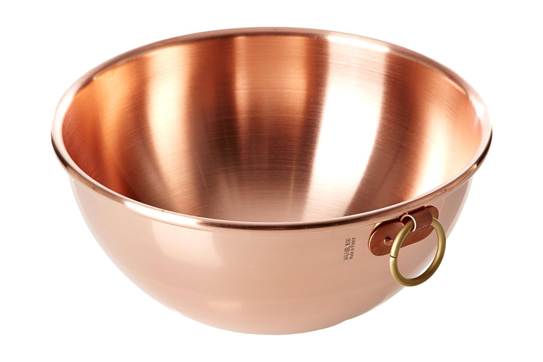 Mauviel M'passion 2.7 qt. Copper Mixing Bowl (Unlined)