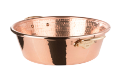 Mauviel M'passion 15 qt. Copper Jam Pan w/Handles