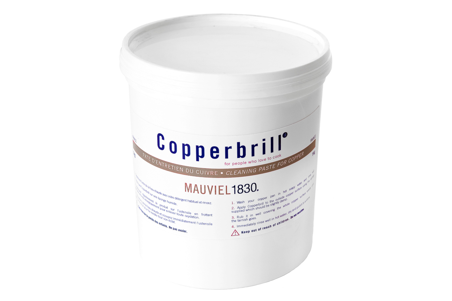 Mauviel Copperbrill Copper Cookware Cleaner - 1 Liter
