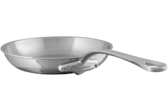 Mauviel M'cook Stainless Steel 10.2 inch Round Fry Pan