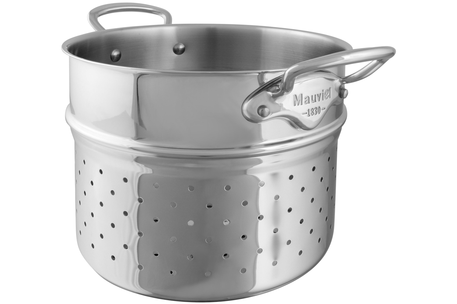 Mauviel M'cook Stainless Steel 9 1/2 inch Pasta Insert