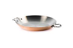 Mauviel Copper M'150S 13.8 inch Paella Pan