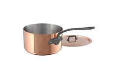 Mauviel Copper M'150C2 0.9 qt. Sauce Pan with Lid