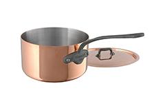 Mauviel Copper M'150C2 1.9 qt. Sauce Pan with Lid