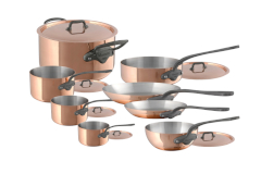 Mauviel M'heritage M'150c 14 Piece Cookware Set