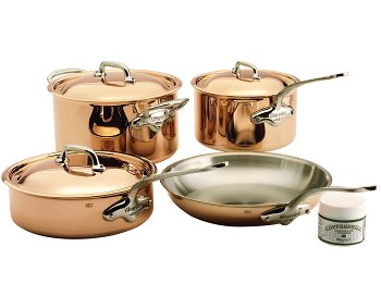 Mauviel M'150S Copper Cookware