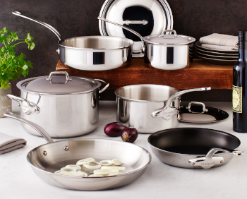 Mauviel M'cook Stainless Cookware