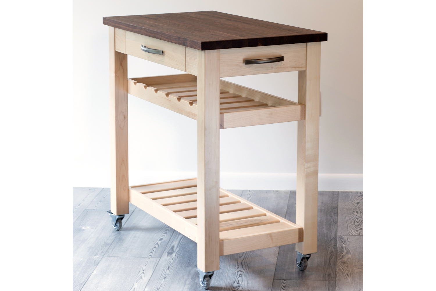 Martin's Home Wares Metro Kitchen Island - Natural Maple