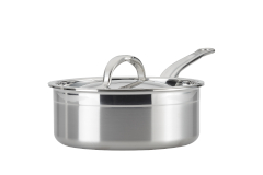 Hestan ProBond Forged Stainless Steel 2 qt. Sauce Pan w/Lid