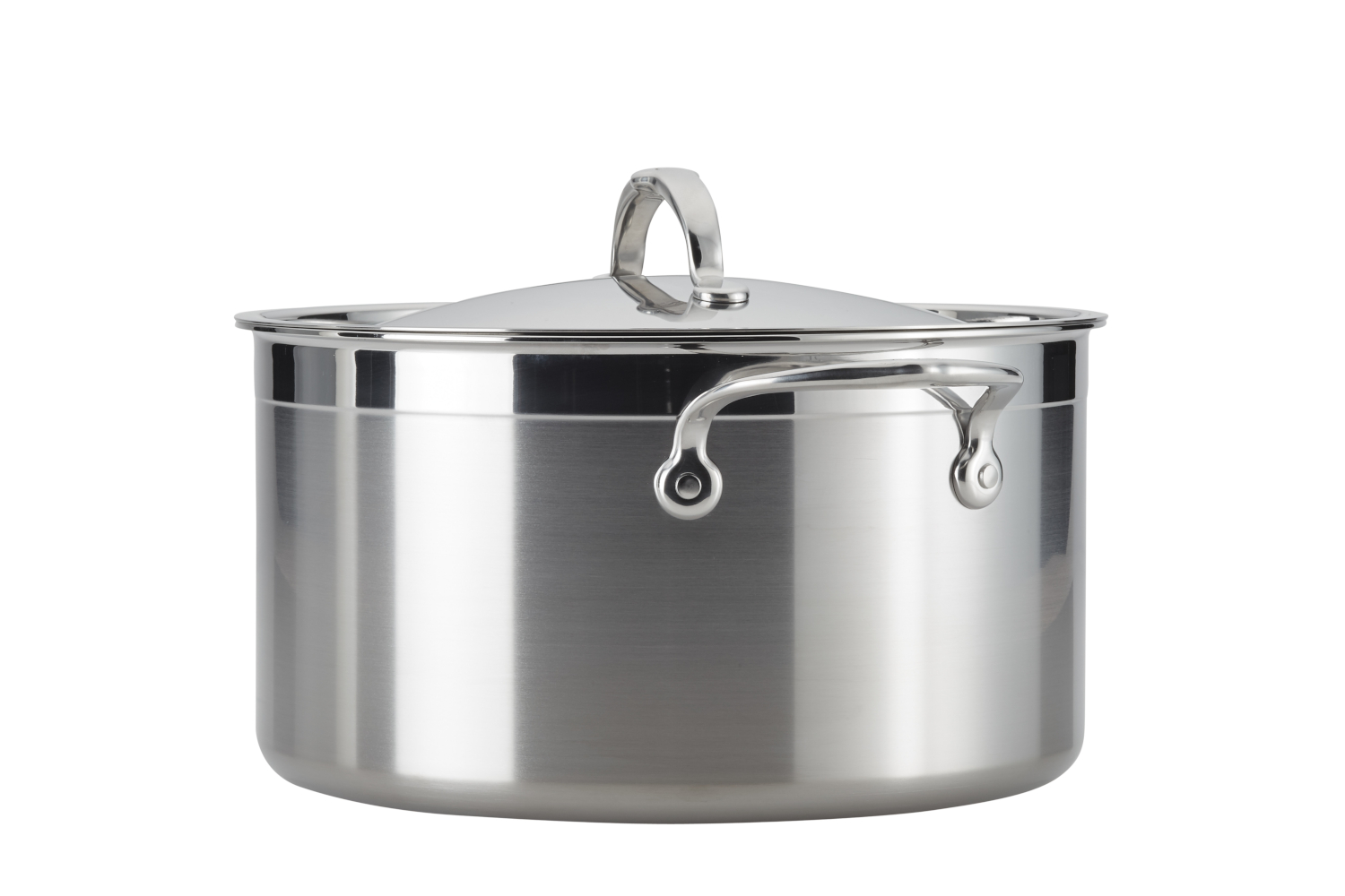 Hestan ProBond Forged Stainless Steel 8 qt. Stock Pot w/Lid
