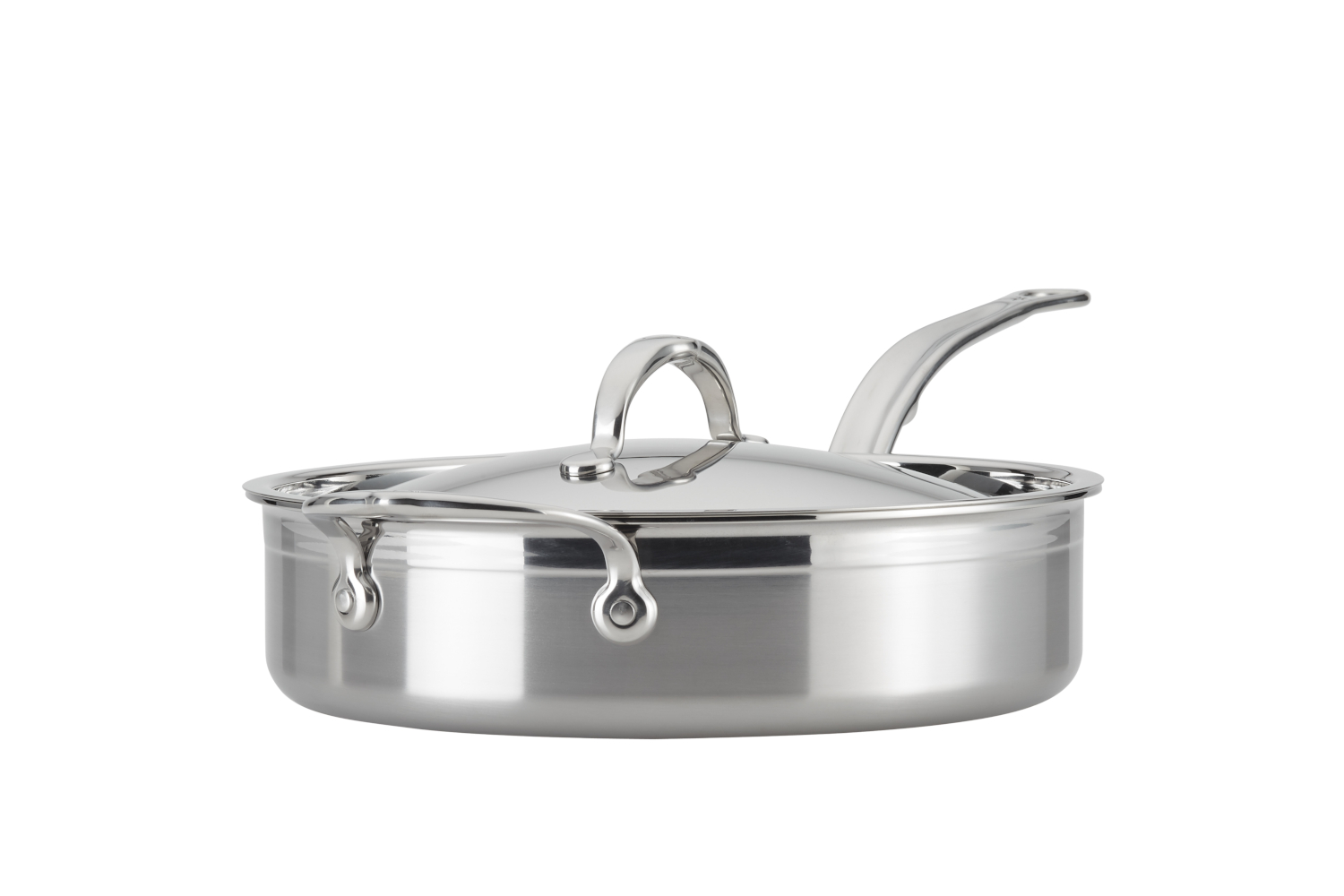 Hestan ProBond Forged Stainless Steel 3 1/2 qt. Saute Pan w/Lid