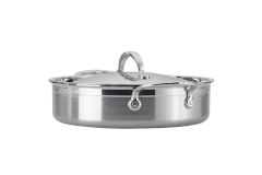 Hestan ProBond Forged Stainless Steel 3 1/2 qt. Sauteuse w/Lid