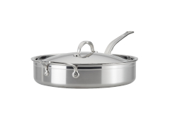 Hestan ProBond Forged Stainless Steel 5 qt. Saute Pan w/Lid