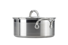 Hestan ProBond Forged Stainless Steel 3 qt. Soup Pot w/Lid