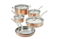 Hestan CopperBond Copper Induction 10 Piece Cookware Set