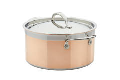 Hestan CopperBond Copper Induction 6 qt. Stock Pot w/Lid