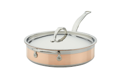 Hestan CopperBond Copper Induction 3 1/2 qt. Saute Pan w/Lid