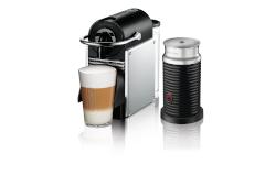 Nespresso Pixie Espresso Machine by De'Longhi w/Aeroccino3 - Aluminum