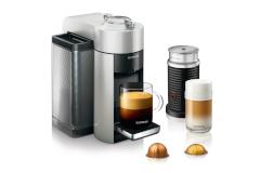 Nespresso Vertuo Coffee & Espresso Machine by De'Longhi w/Aeroccino3 - Silver