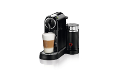 Nespresso CitiZ & Milk Espresso Machine by De'Longhi - Black