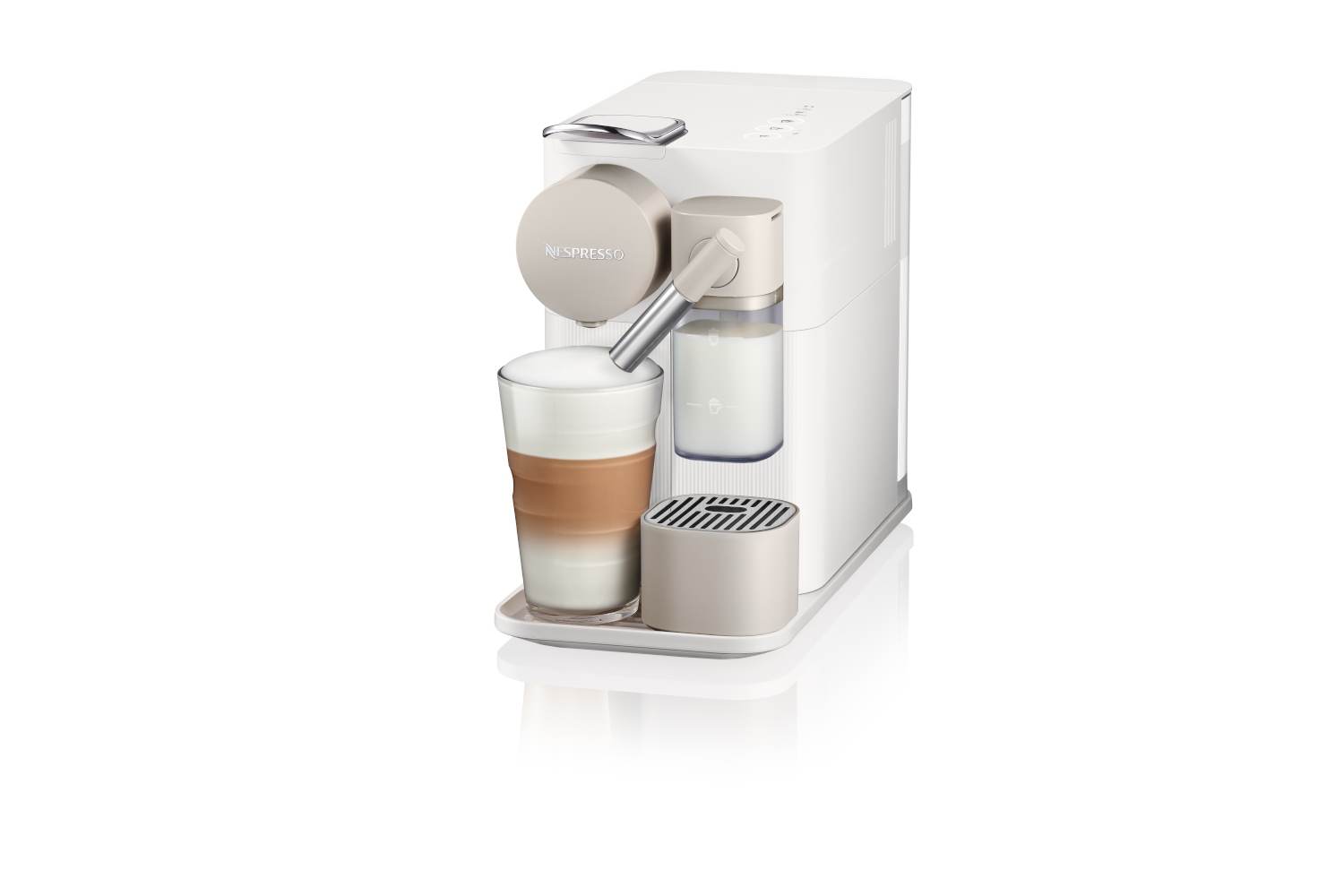 Nespresso Lattissima One by De'Longhi - Silky White