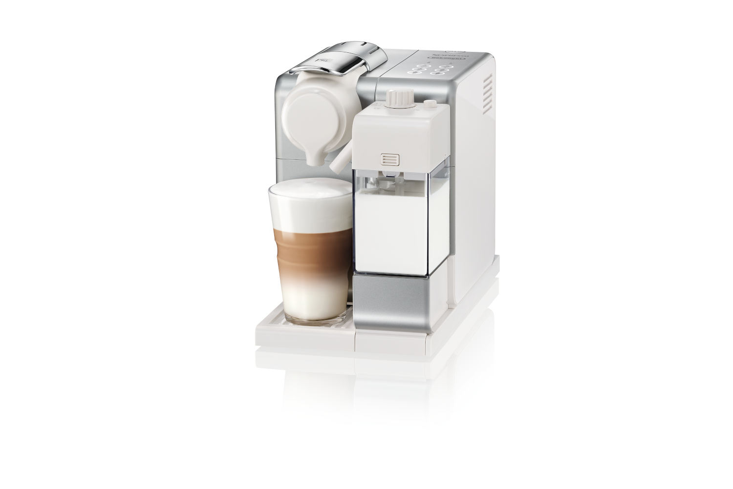 Nespresso Lattissima Touch by De'Longhi - Frosted Silver