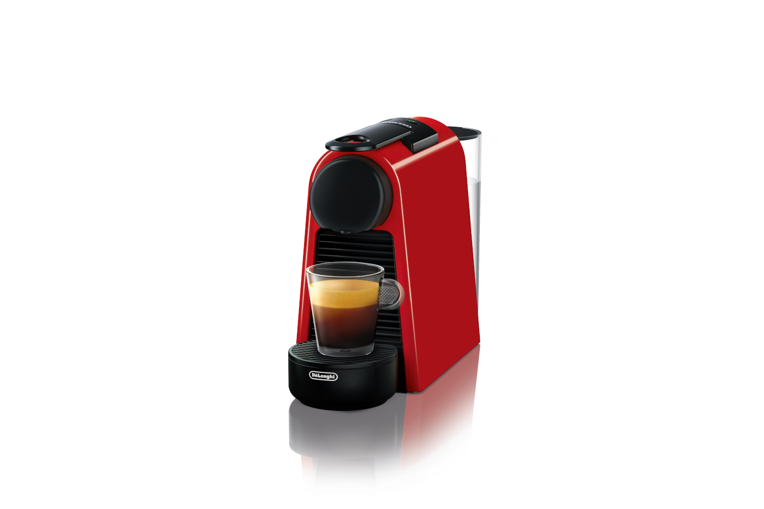 Nespresso Essenza Mini Espresso Machine by De'Longhi - Red